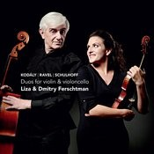 Kodály, Ravel, Schulhoff: Duos For Violin & Violoncello Songs