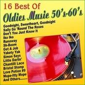 16 Best Of Oldies Music 50's 60's Songs