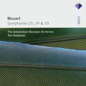 Mozart : Symphonies Nos 25, 29 & 33 (-  Apex) Songs