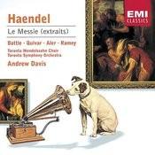 Handel : Messiah Highlights Songs