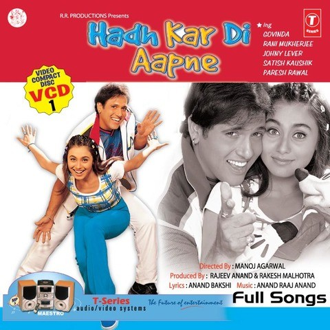 Hadh Kar Di Aapne Songs Download: Hadh Kar Di Aapne MP3 Songs Online
