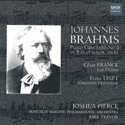Brahms: Piano Concerto No.2; Franck; Liszt Songs