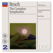 Bruch: The 3 Symphonies/Works For Violin & Orchestra Songs
