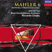 Mahler: Symphonies Nos.6 & 10 /Zemlinsky: Six Songs (2 Cds) Songs