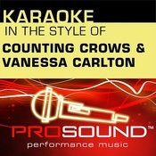 Big Yellow Taxi (Karaoke Lead Vocal Demo)[In The Style Of Counting Crows And Vanessa Carlton] Song