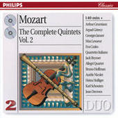 Mozart: The Complete Quintets Vol.2 Songs
