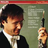 Bach, J.S.: Oboe Concerto in F; Oboe Concerto in D minor; Oboe Concerto in A Songs