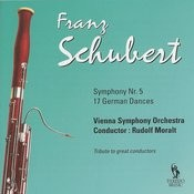 Schubert: Symphony No. 5, D. 485 & German Dances, D. 783 Songs