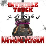 Invisible Touch (In The Style Of Genesis) [Karaoke Version] - Single Songs