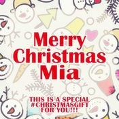 Merry Christmas Mia - A Special #christmasgift For You Songs