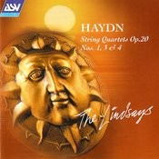 Haydn: String Quartets Op.20 Nos.1, 3 and 4 Songs
