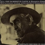 All The Homespun Days: A Narrative Poem Of New York State Life Songs
