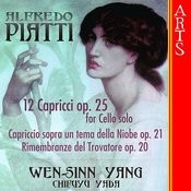 Piatti: 12 Capricci Op. 25 for Cello solo Songs