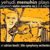 Yehudi Menuhin Plays Paganini's Violin Concerto No. 1 Songs