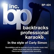 Love Of My Life (Karaoke Lead Vocal Demo)[In The Style Of Carly Simon] Song
