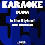 Diana (In The Style Of One Direction) [Karaoke Version] - Single Songs