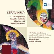 Stravinsky: Le Sacre du Printemps/Petrushka/Pulcinella/Suites/Danses Songs