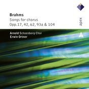 Brahms : Lieder & Romanzen - Secular Choruses Songs