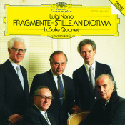 Nono Fragmente Stille An Diotima For String Quartet Songs