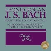 Leonid Kogan Plays Bach Songs