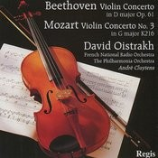 Mozart: Violin Concerto No. 3 - Beethoven: Violin Concerto In D Major Songs