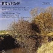 Brahms: Viola Sonatas And Songs With Viola Songs