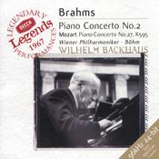 Brahms: Piano Concerto No.2 / Mozart: Piano Concerto No.27 Songs