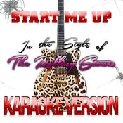Start Me Up (In The Style Of The Rolling Stones) [Karaoke Version] - Single Songs