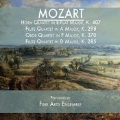 Mozart: Horn Quintet In E-Flat Major, K. 407 / Flute Quartet In A Major, K. 298 / Oboe Quartet In F Major, K. 370 / Flute Quartet In D Major, K. 285 Songs