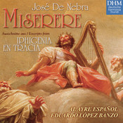 Jose De Nebra: Misere Songs