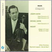 Joseph Haydn: Violin Concertos In C & G; Michael Haydn: Violin Concerto In A Songs