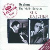 Brahms The Violin Sonatas Songs