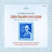 Bach C P E Odes Psalms Songs