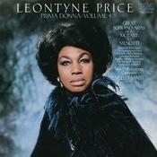 Leontyne Price - Prima Donna Vol. 4: Great Soprano Arias From Mozart To Menotti Songs