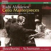 Bocherini & Schumann: Cello Masterpieces Songs