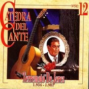 Catedra Del Cante Vol. 12: Terremoto De Jerez Songs