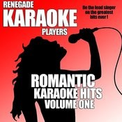 Romantic Karaoke Hits Volume One Songs