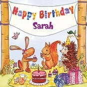 Happy Birthday Sarah Songs