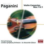 Paganini: Violin Concertos Nos.1 & 3 Songs