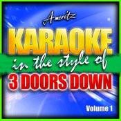 Karaoke - 3 Doors Down Vol. 1 Songs
