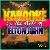 Karaoke - Elton John Vol. 3 Songs