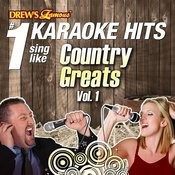 Drew's Famous #1 Karaoke Hits: Sing Like Country Greats, Vol. 1 Songs