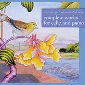 Mario Castelnuovo-Tedesco: Complete Works For Cello And Piano Songs