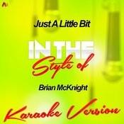 Just A Little Bit (In The Style Of Brian Mcknight) [Karaoke Version] - Single Songs