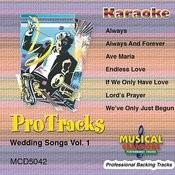 Karaoke - Wedding Songs Vol. 1 Songs