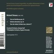Richard Strauss: Tod und Verklärung, Sinfonia domestica & Dance of the Seven Veils Songs