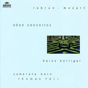 Lebrun / Mozart: Oboe concertos Songs