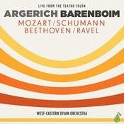 Argerich - Barenboim - Mozart, Schumann, Beethoven, Ravel Songs