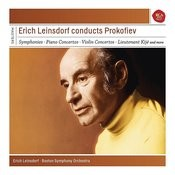 Erich Leinsdorf conducts Prokofiev Songs
