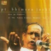 Pandit Bhimsen Joshi In Live Concert Songs